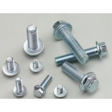 Stainless custom Hex Steel Flange Bolts